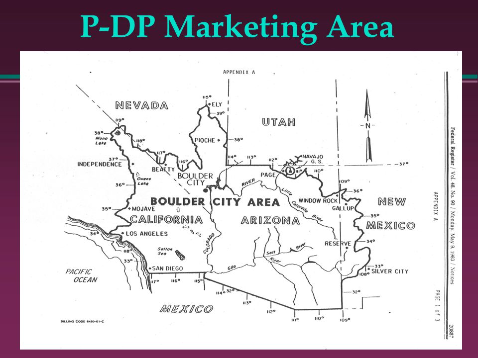 P-DP Marketing Area