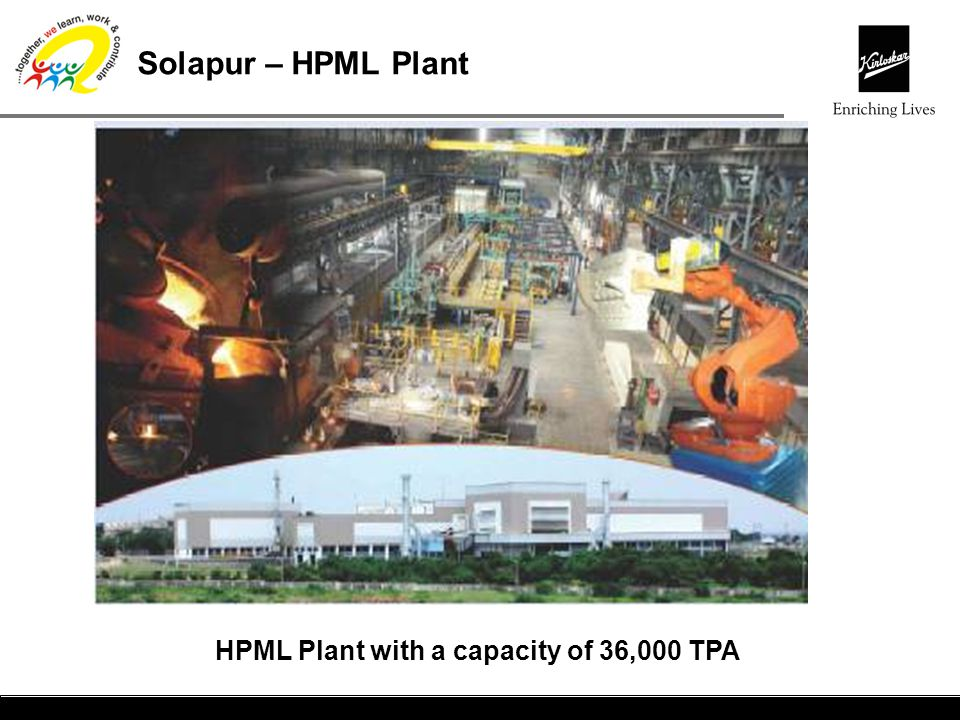 HPML Plant with a capacity of 36,000 TPA