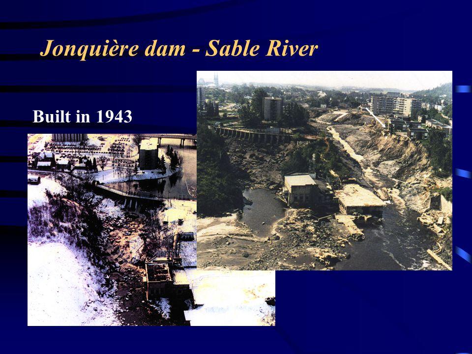 Jonquière dam - Sable River