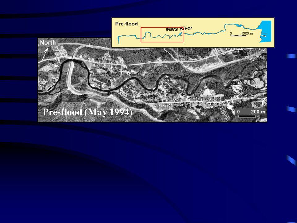 Pre-flood (May 1994) Pre-flood