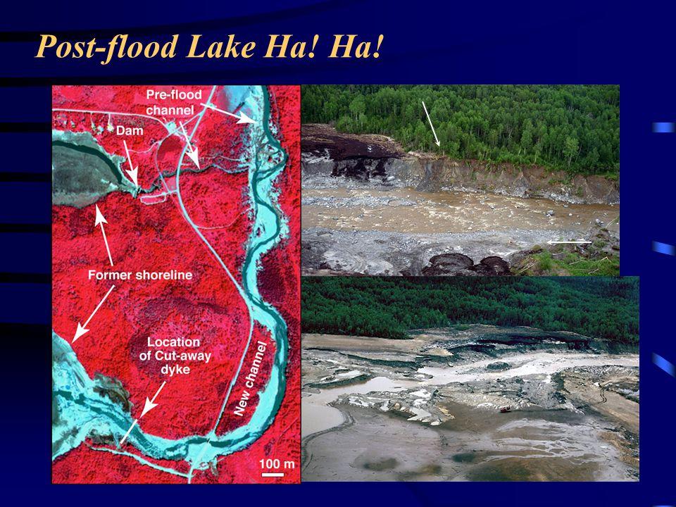 Post-flood Lake Ha! Ha!