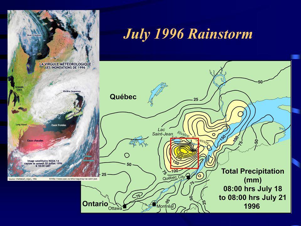 July 1996 Rainstorm