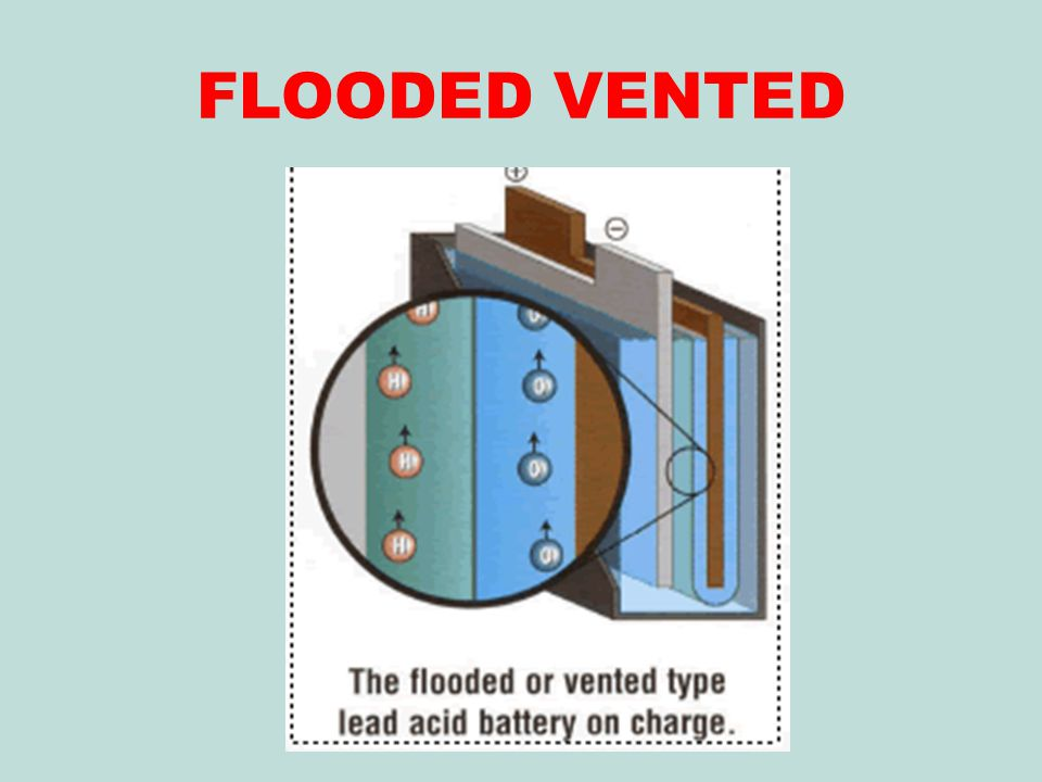 FLOODED VENTED