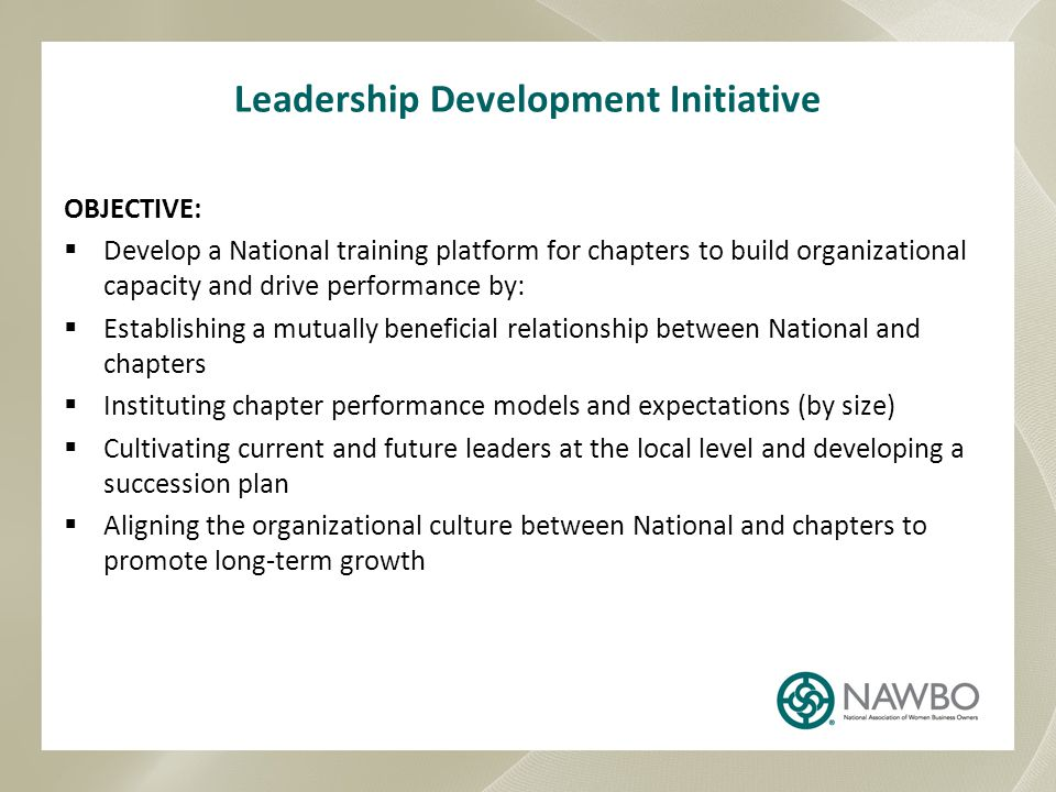 Leadership Development Initiative