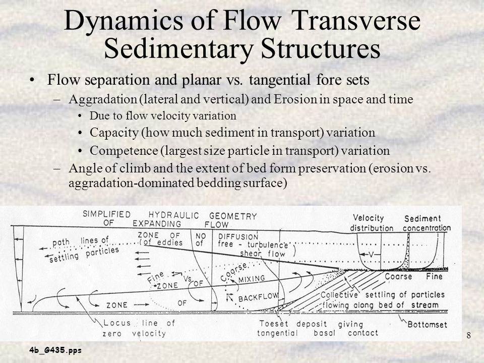 Dynamics of Flow Transverse Sedimentary Structures