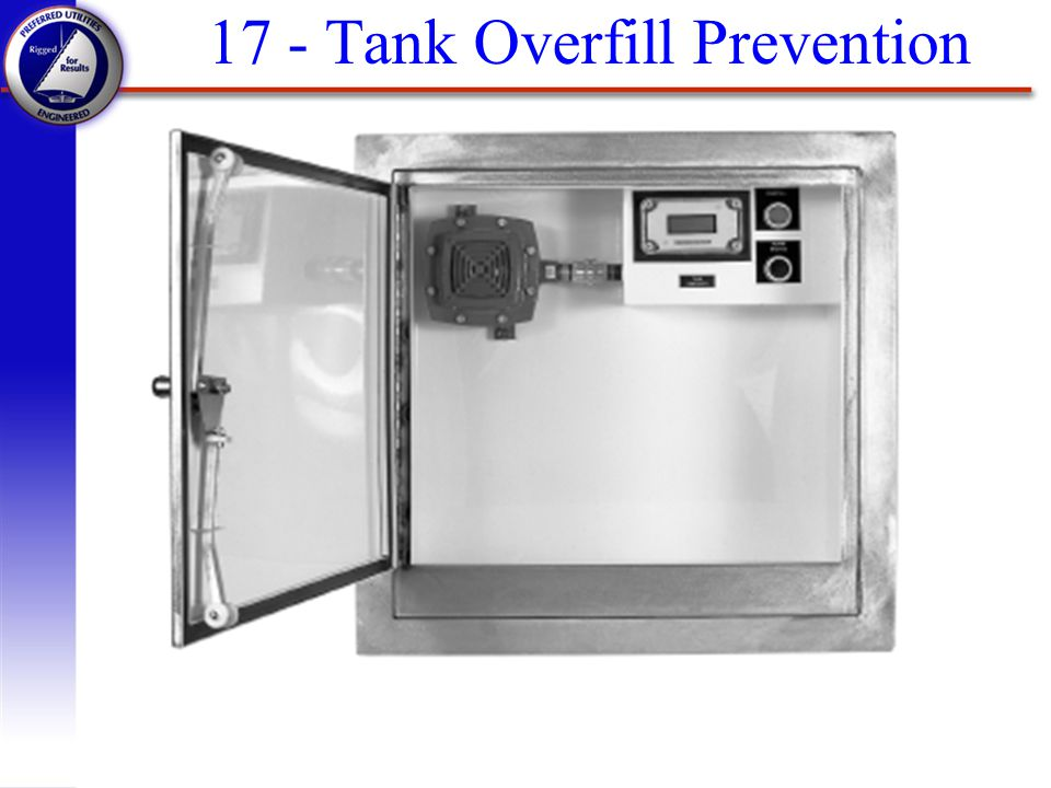 17 - Tank Overfill Prevention