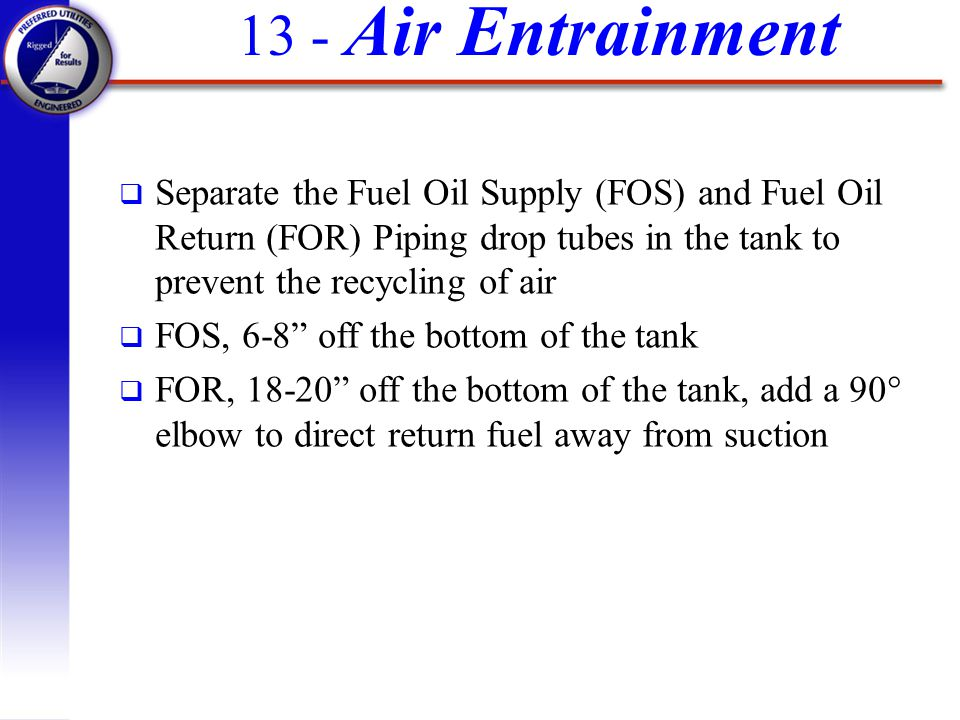 13 - Air Entrainment