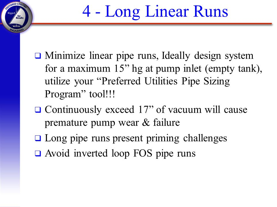 4 - Long Linear Runs