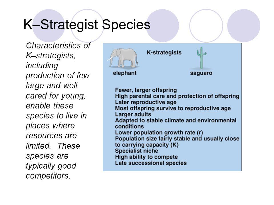 K–Strategist Species Fig. 10–7b