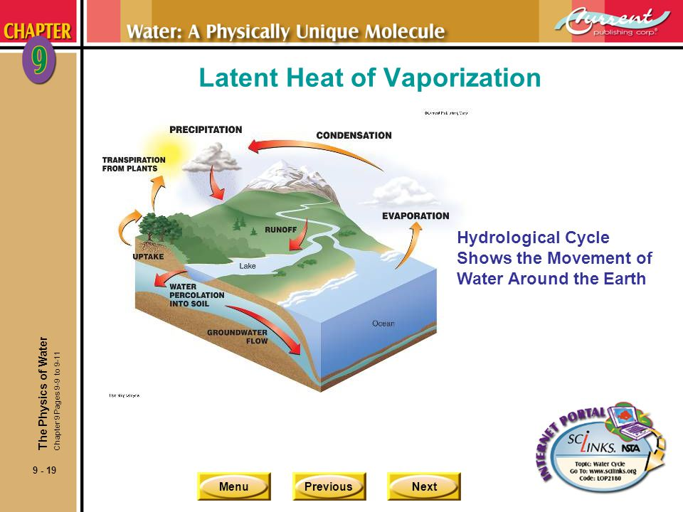 Latent Heat of Vaporization
