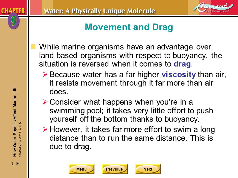 Movement and Drag