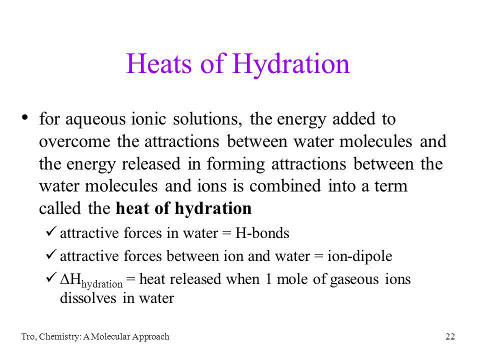 Heats of Hydration