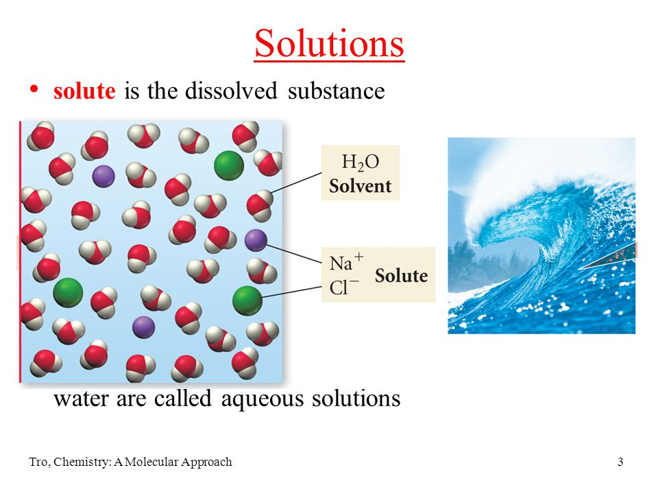 Solutions solute is the dissolved substance seems to disappear