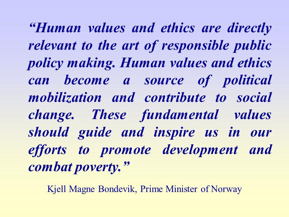 Kjell Magne Bondevik, Prime Minister of Norway