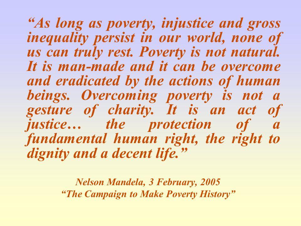 Nelson Mandela, 3 February, 2005