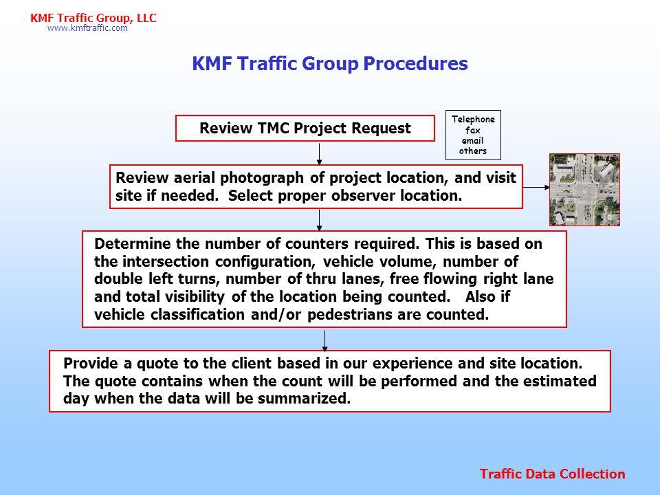KMF Traffic Group Procedures