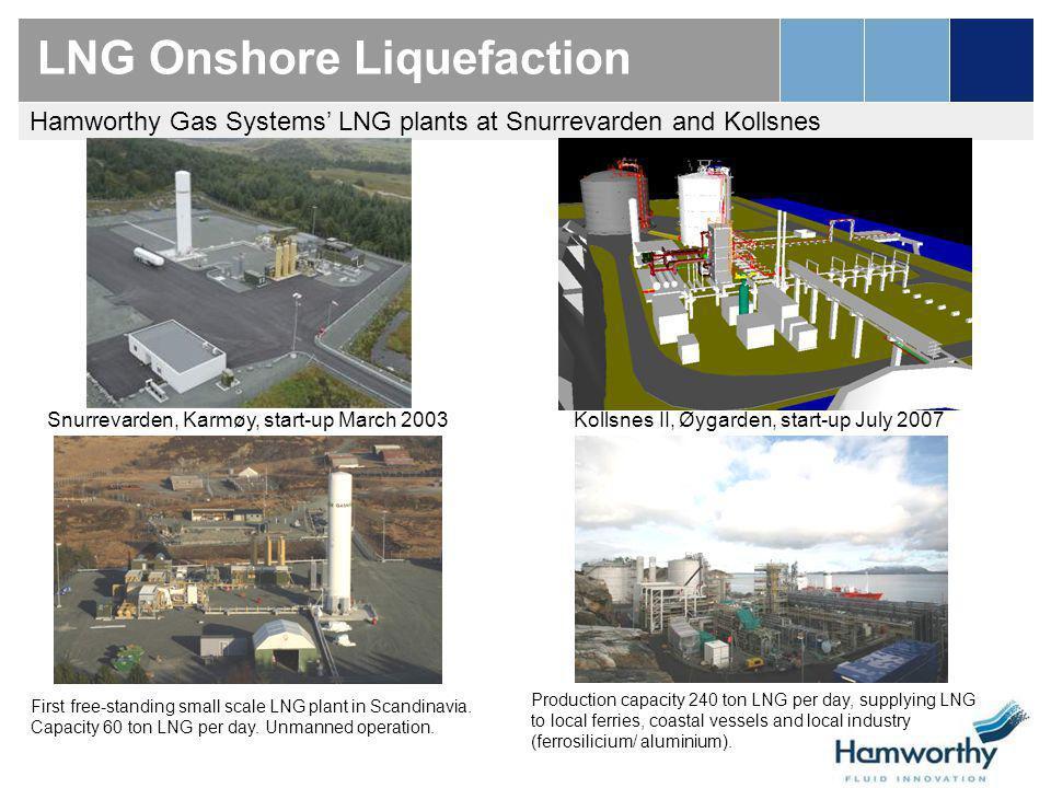 LNG Onshore Liquefaction