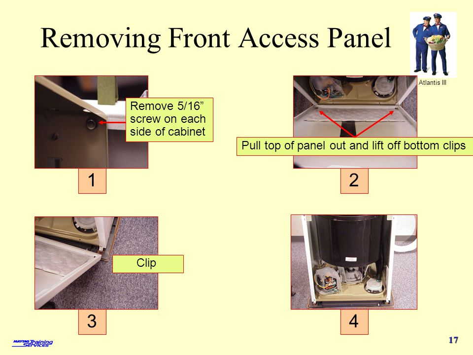 Removing Front Access Panel