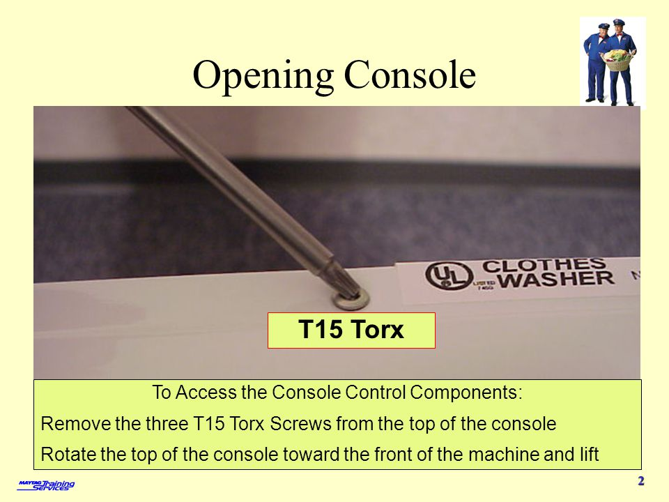 To Access the Console Control Components: