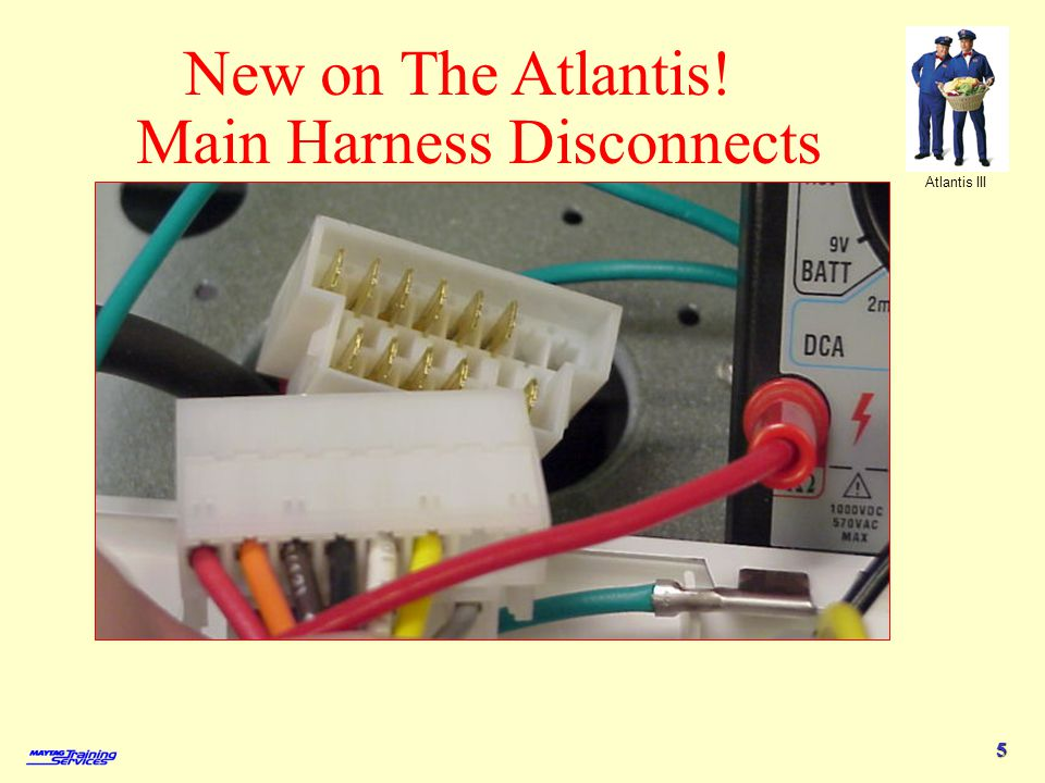 New on The Atlantis! Main Harness Disconnects
