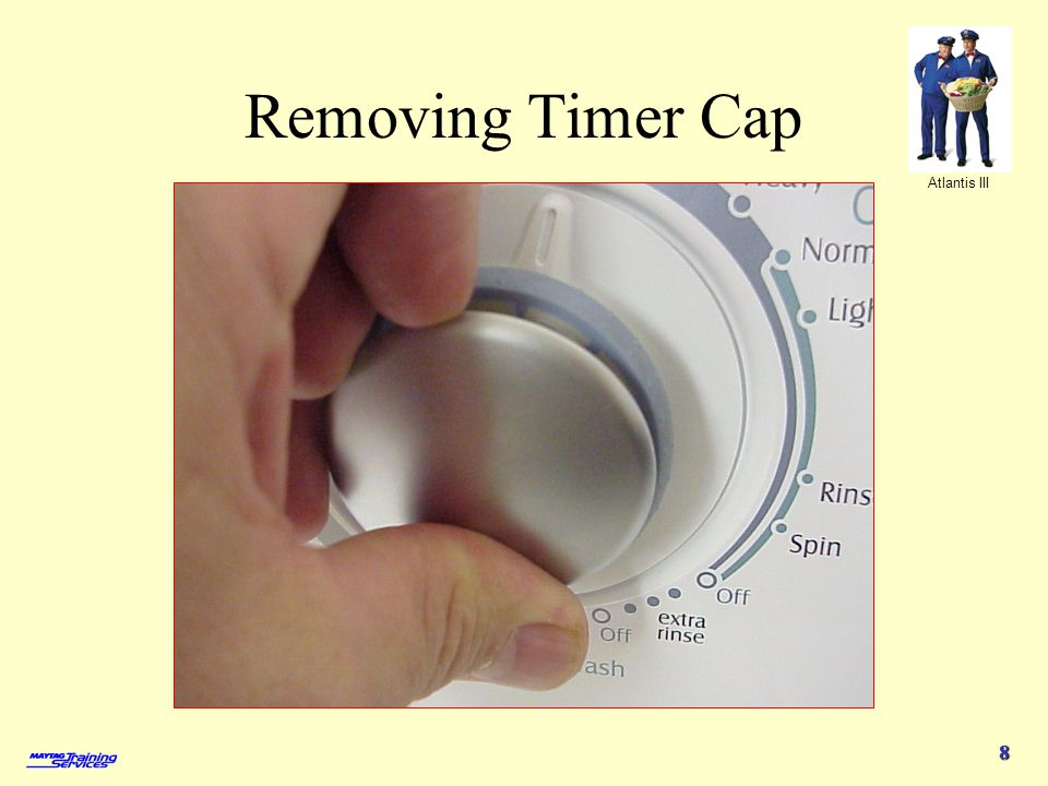 Removing Timer Cap