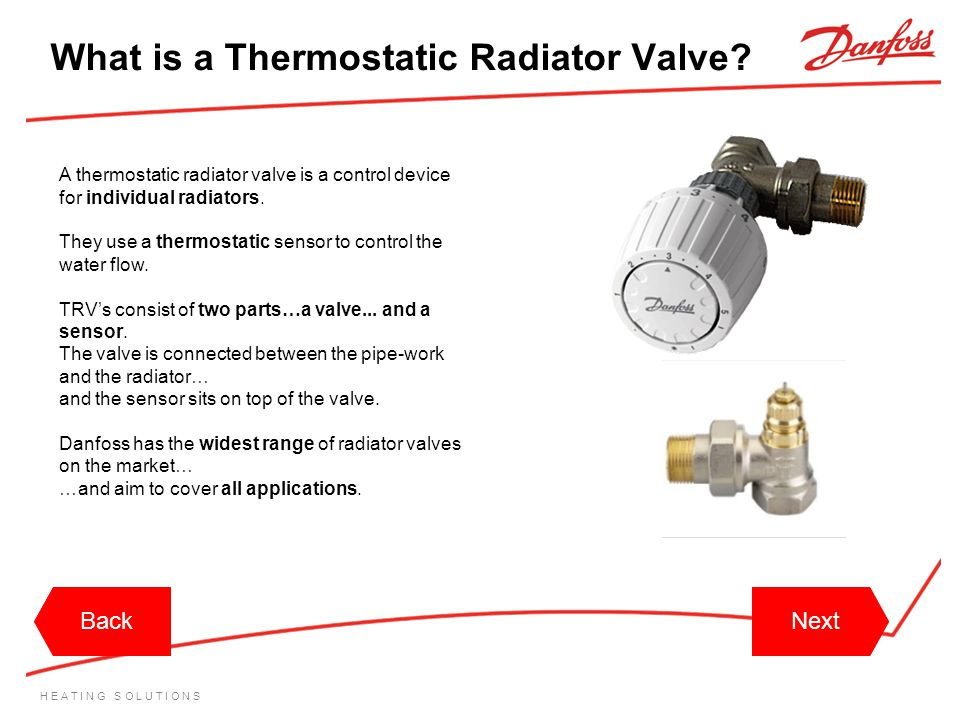 What is a Thermostatic Radiator Valve