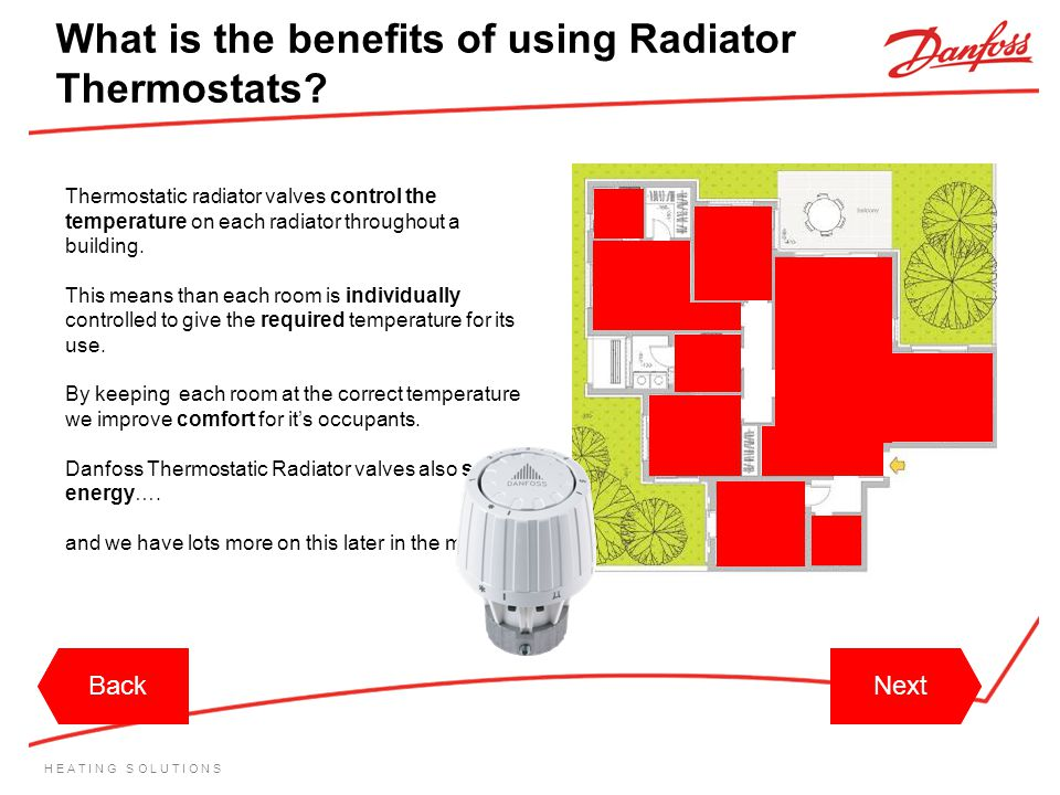 What is the benefits of using Radiator Thermostats