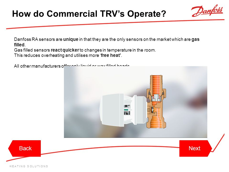 How do Commercial TRV's Operate