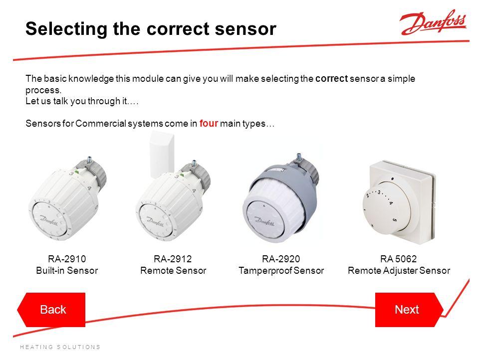 Remote Adjuster Sensor