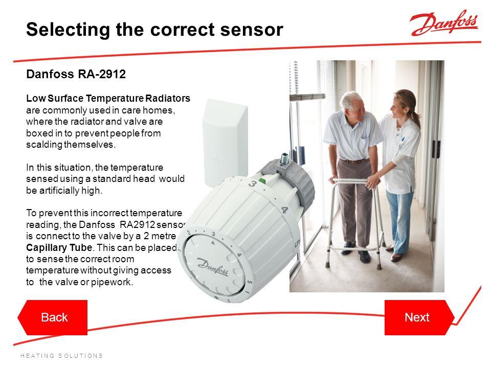 Selecting the correct sensor