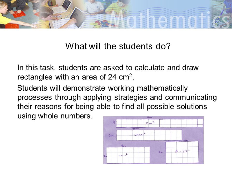 What will the students do