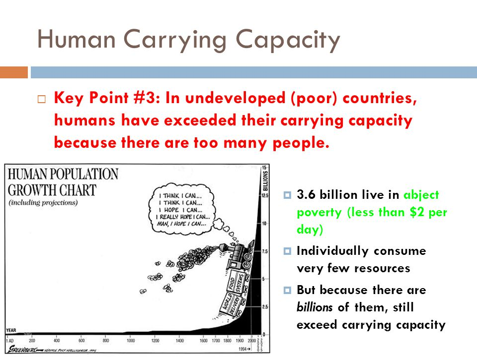 Human Carrying Capacity