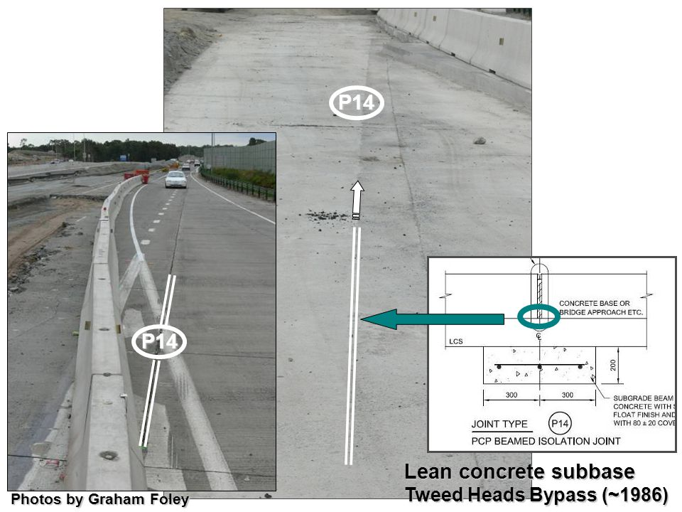 P14 P14 Lean concrete subbase Tweed Heads Bypass (~1986)