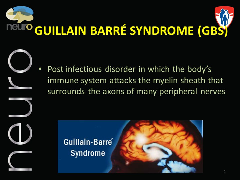 GUILLAIN BARRÉ SYNDROME (GBS)