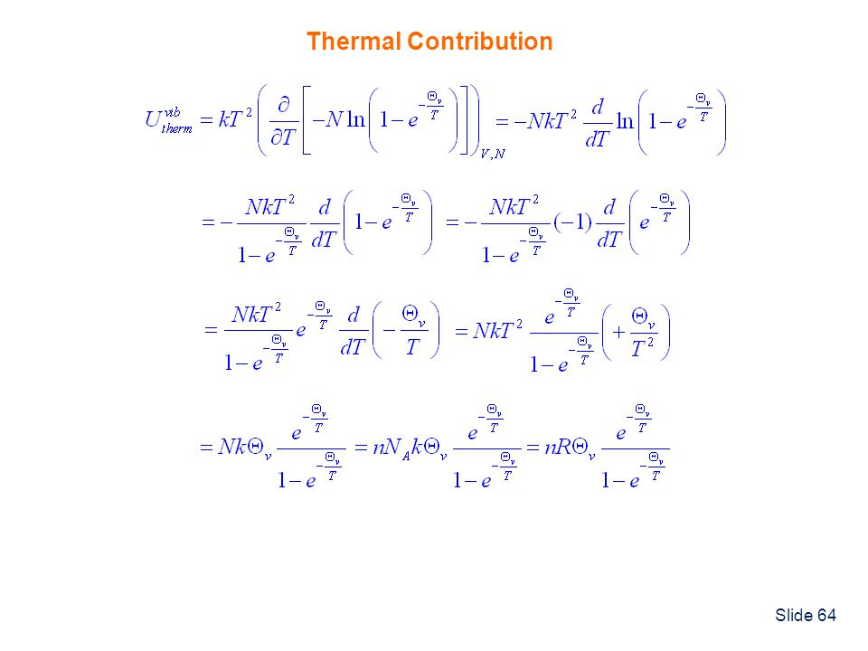 Thermal Contribution
