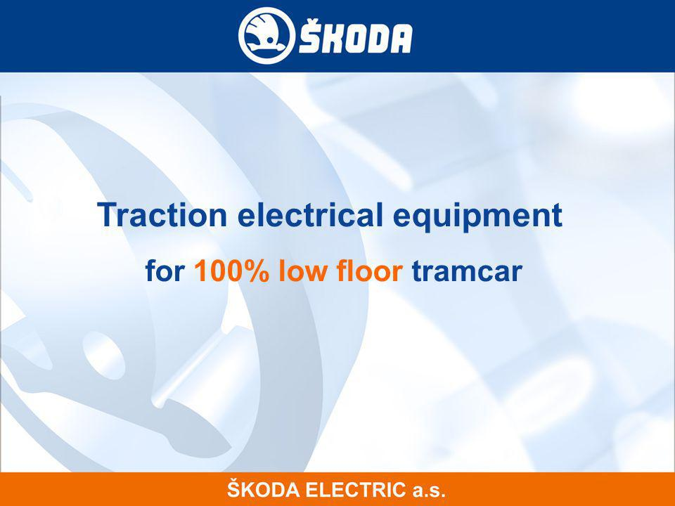 Traction electrical equipment