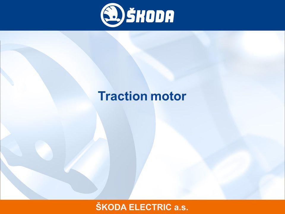 Traction motor 12