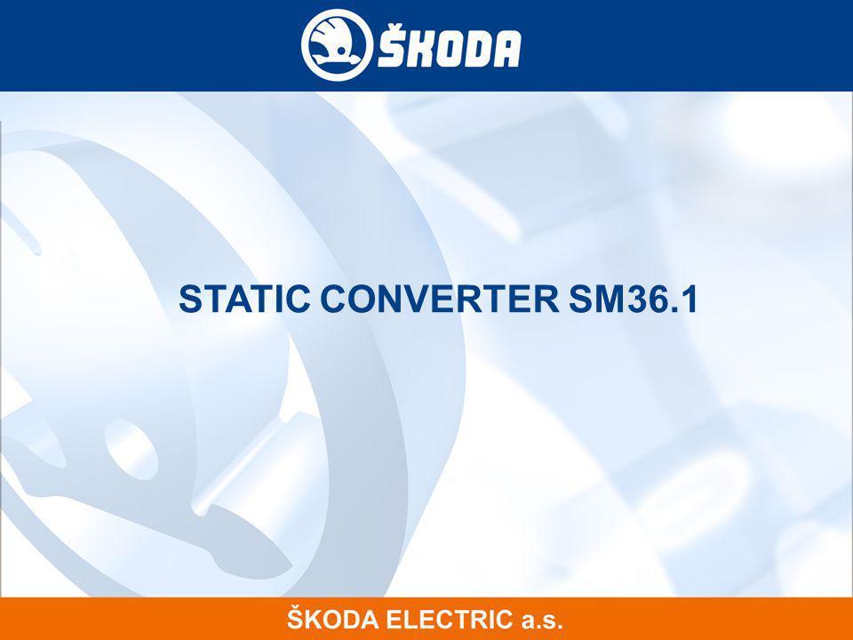 STATIC CONVERTER SM36.1 16