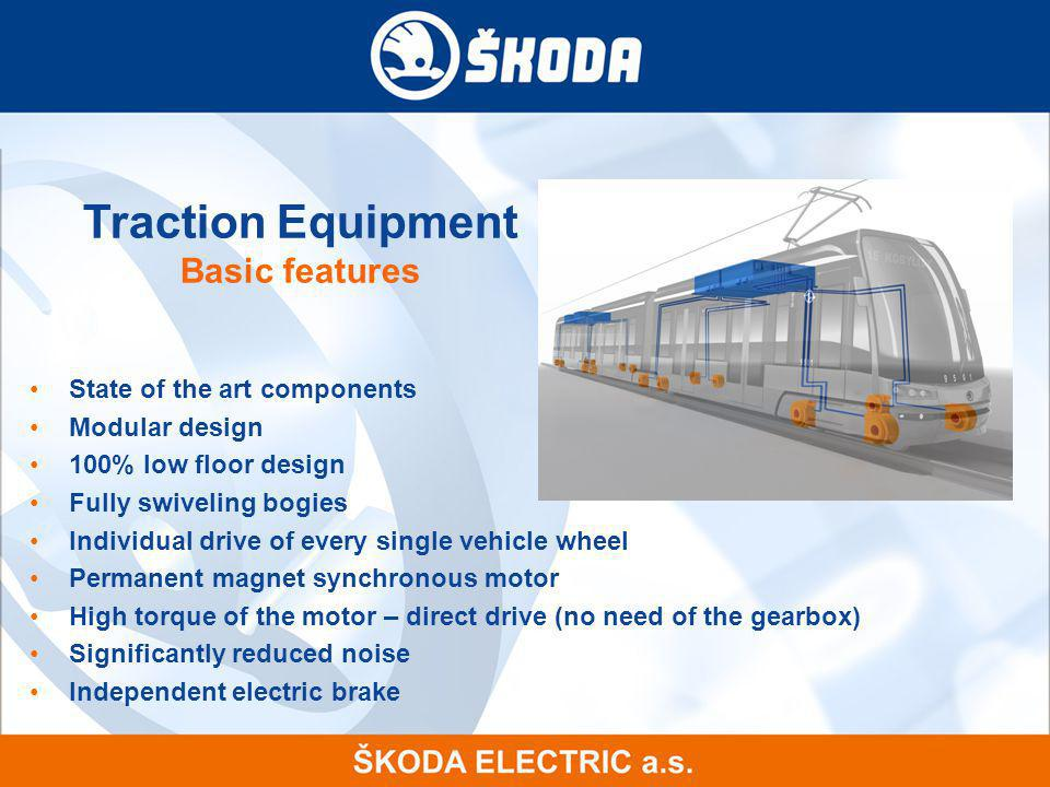 Traction Equipment Basic features