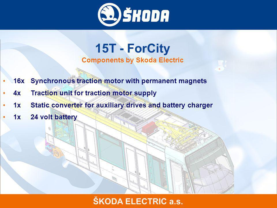15T - ForCity Components by Skoda Electric