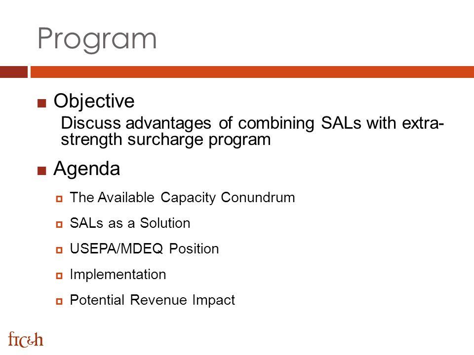 Program Objective Agenda