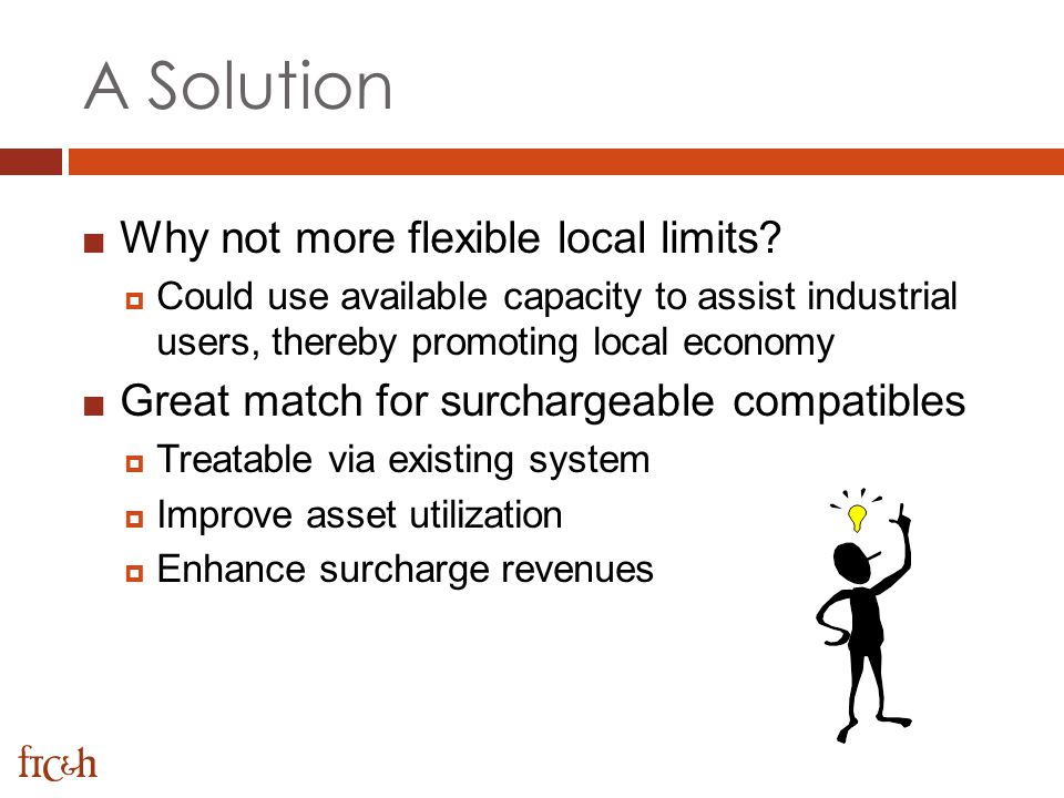 A Solution Why not more flexible local limits