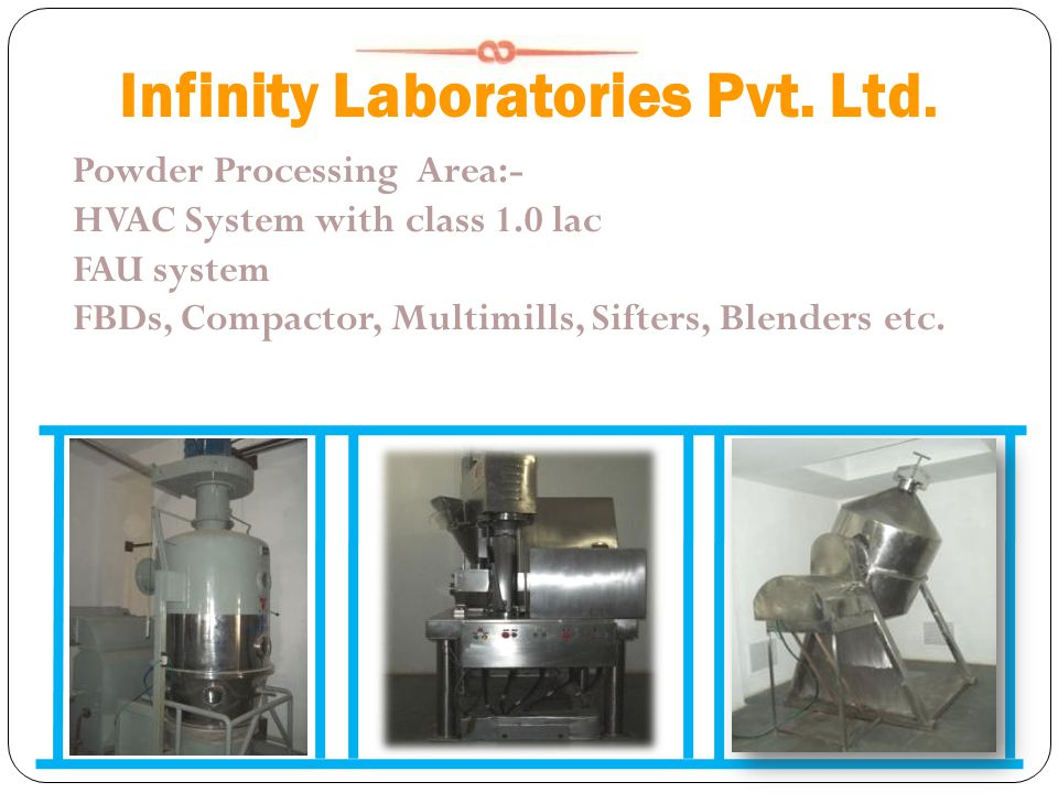 Infinity Laboratories Pvt. Ltd.