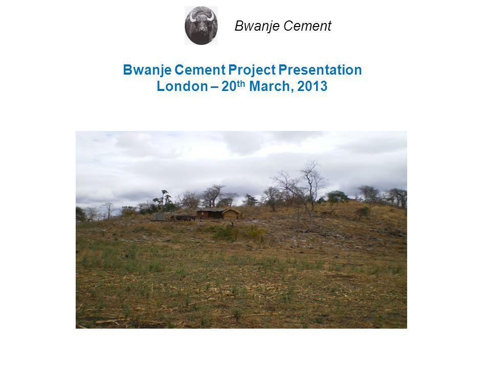 Bwanje Cement Project Presentation