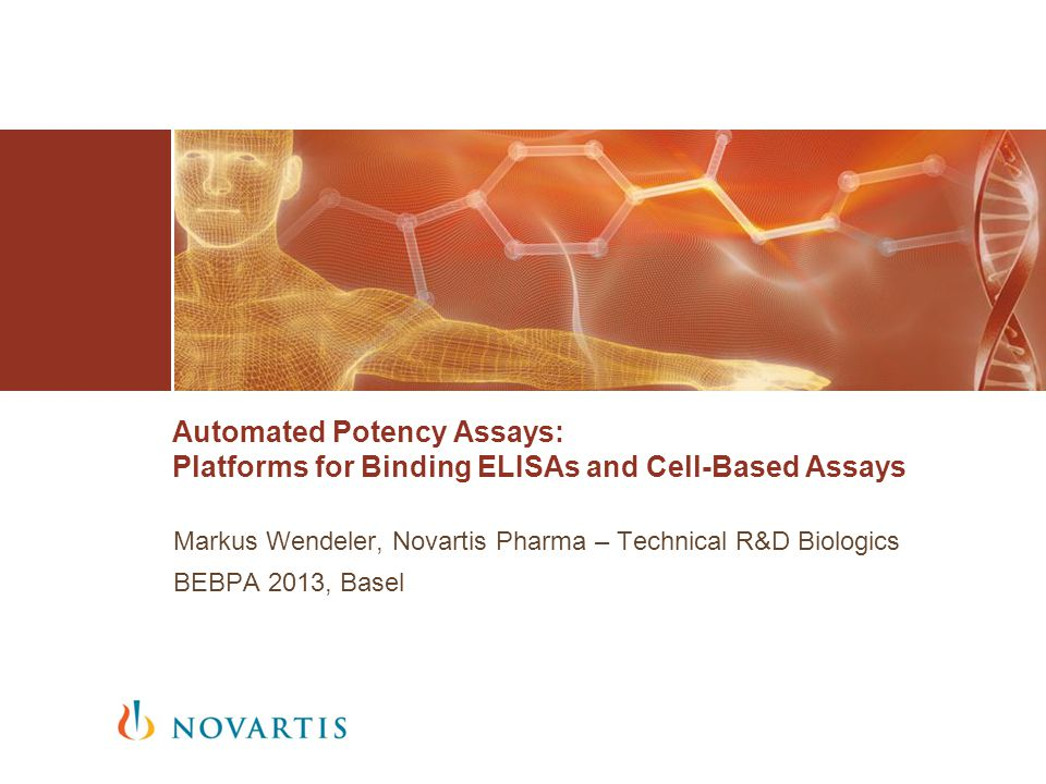 Automated Potency Assays: Platforms for Binding ELISAs and Cell-Based Assays