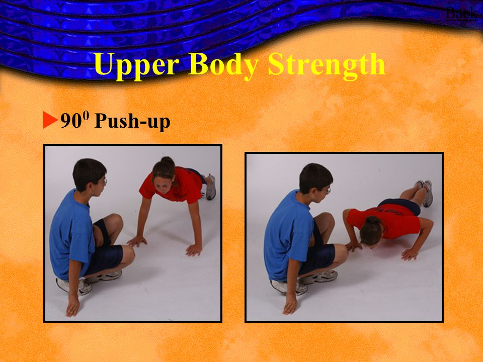 Back Upper Body Strength 900 Push-up