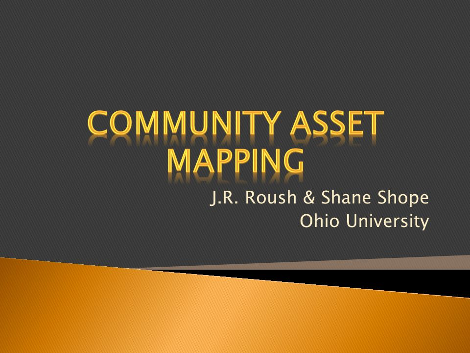 Community Asset Mapping