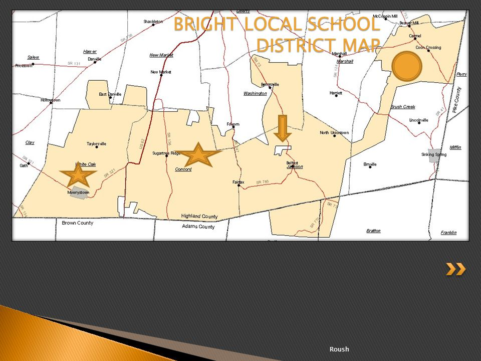 BRIGHT LOCAL SCHOOL DISTRICT MAP