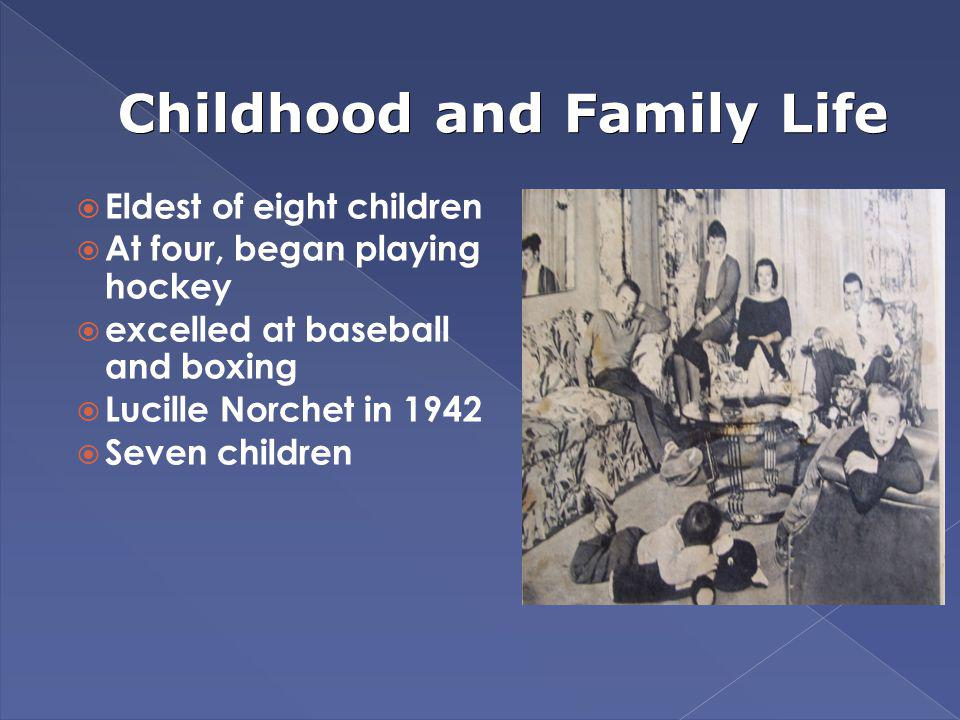 Childhood and Family Life