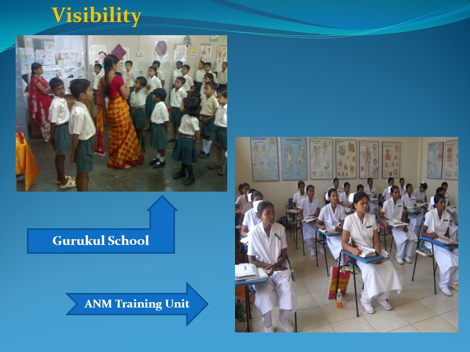 Visibility Gurukul School ANM Training Unit